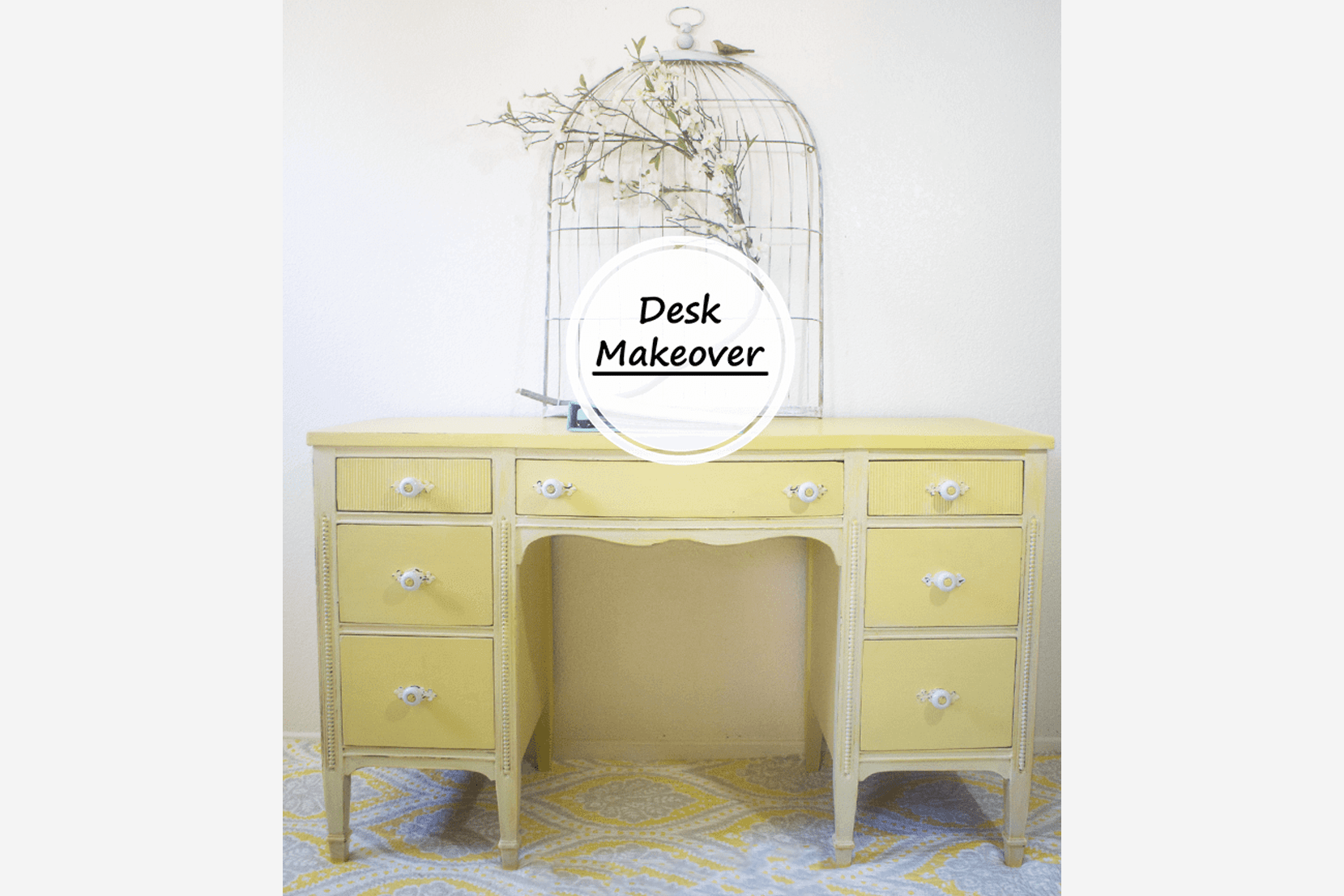DIY-Finished-Yellow-Desk-Makeover