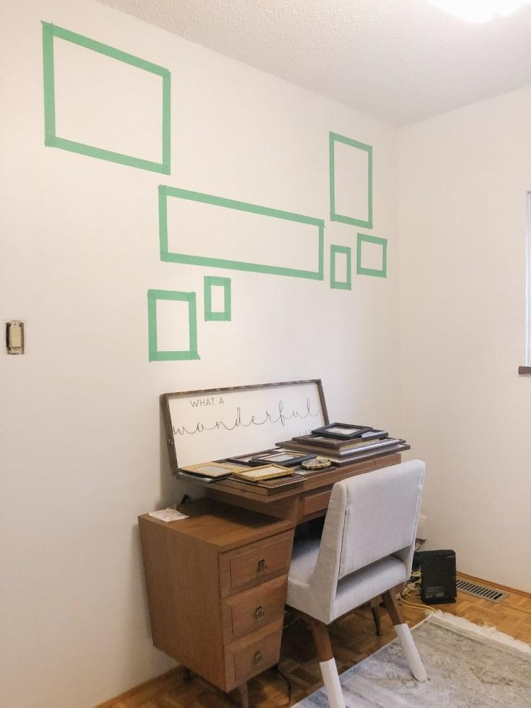Sewing machine wall 2