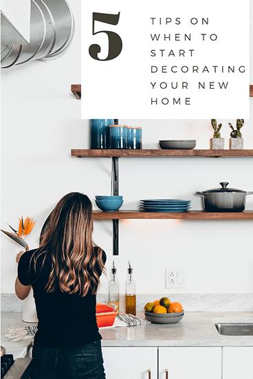 Girl Decorating Kitchen