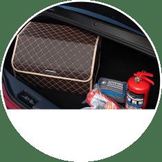 Саквояж органайзер в багажник автомобиля