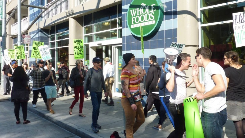 Picket at Whole Foods, San Francisco, 2014 | Image courtesy of the author