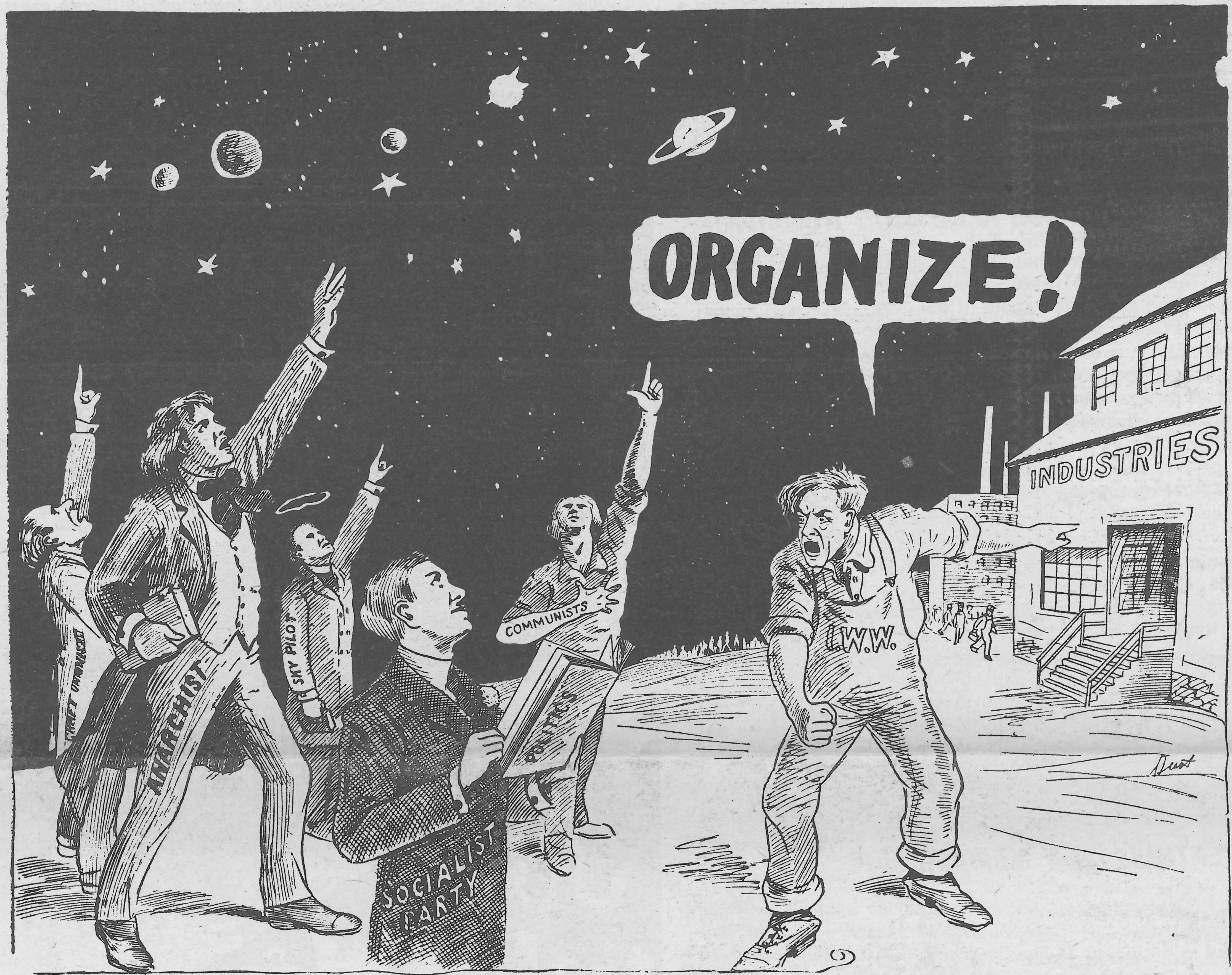 On Dual-Carding (Or how revolutionaries should approach mainstream unions)