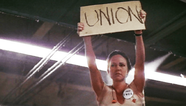 Scene from Norma Rae