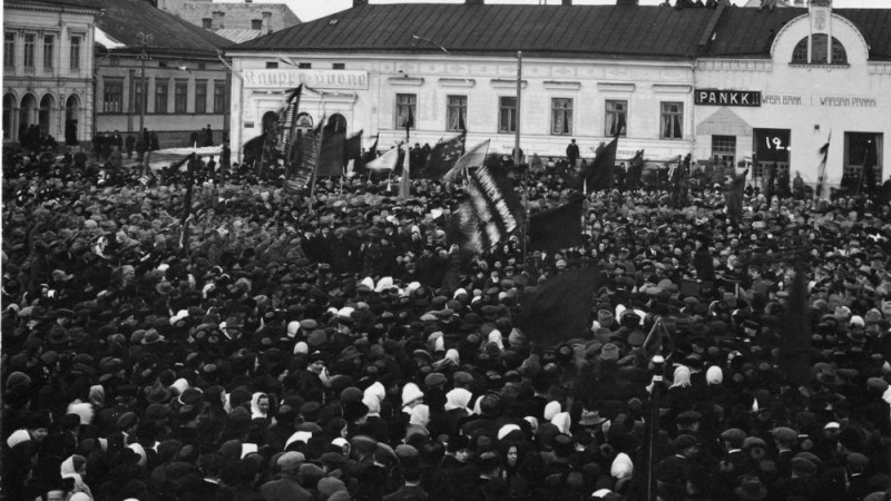 1905 General Strike in Pori, Finland | Satakunta Museum, Wikimedia Commons