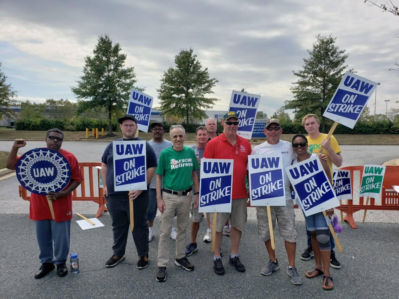 Dispatch from the picket line at an idled GM plant
