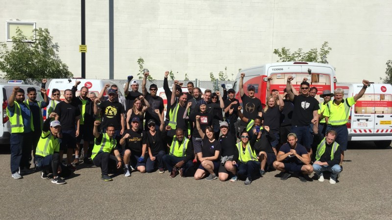Canada Post workers celebrate after refusing work at Rosedale depot 2019