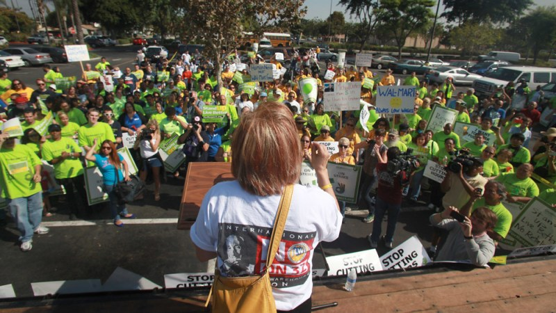 OUR Walmart rally, Pico Rivera CA, 2012 © UFCW | Flickr
