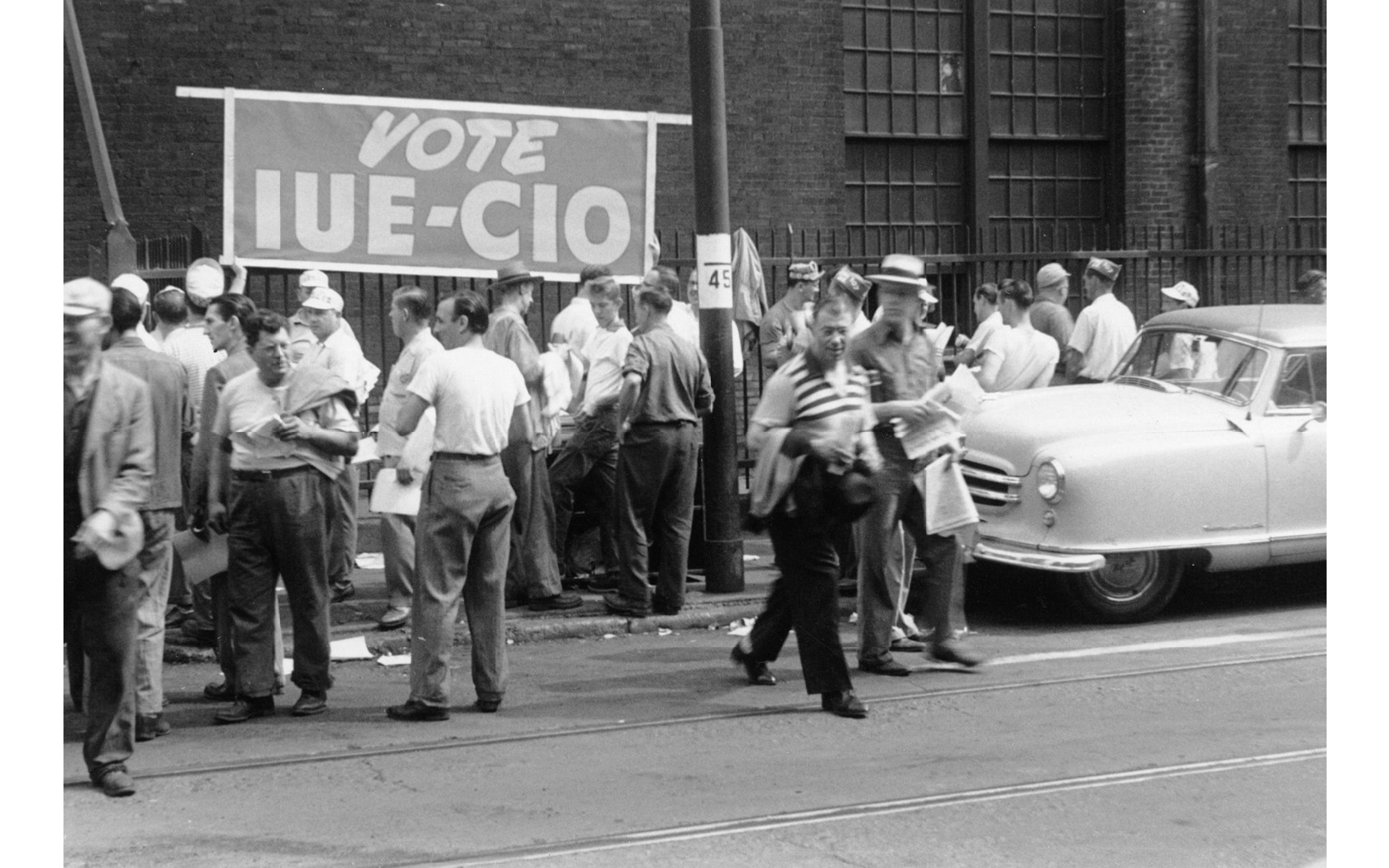 Beyond red baiting: reading between the lines of the history of United Electrical Workers
