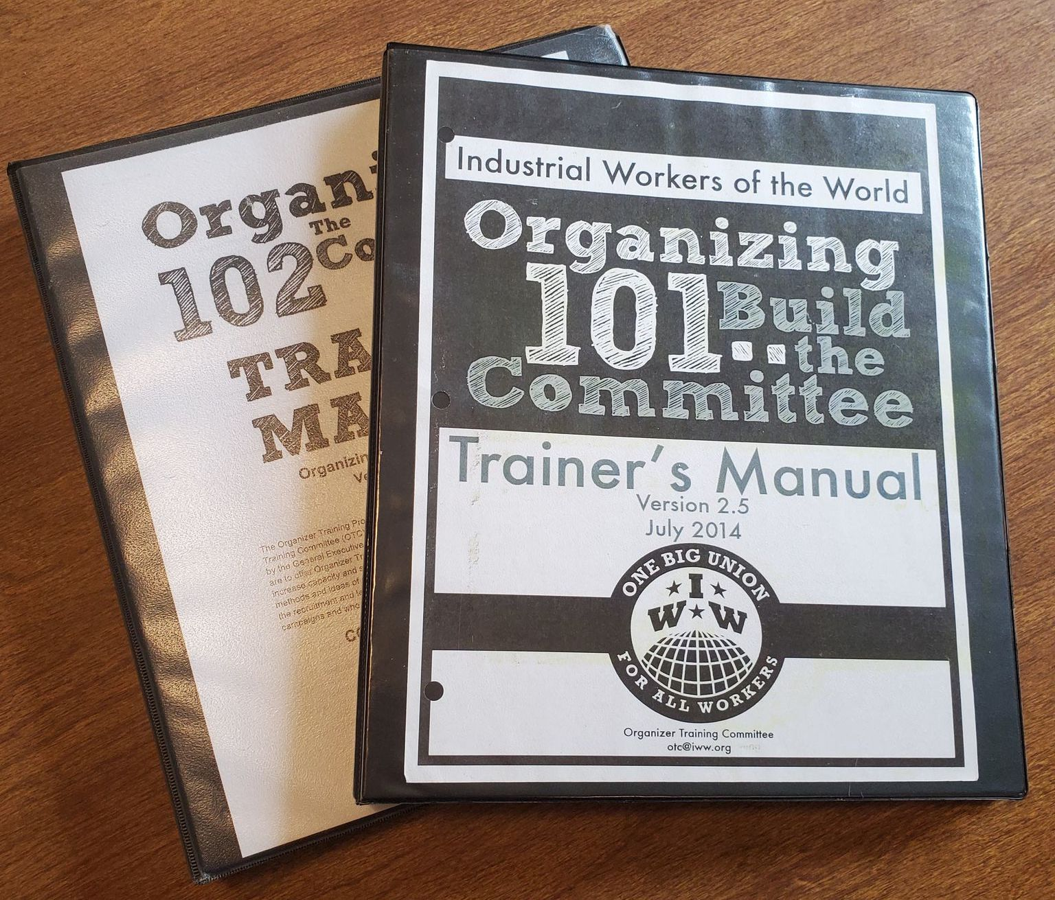 A history of the IWW's organizer training program