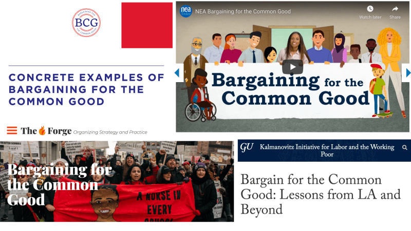 Is Bargaining for the Common Good relevant to private sector unions?