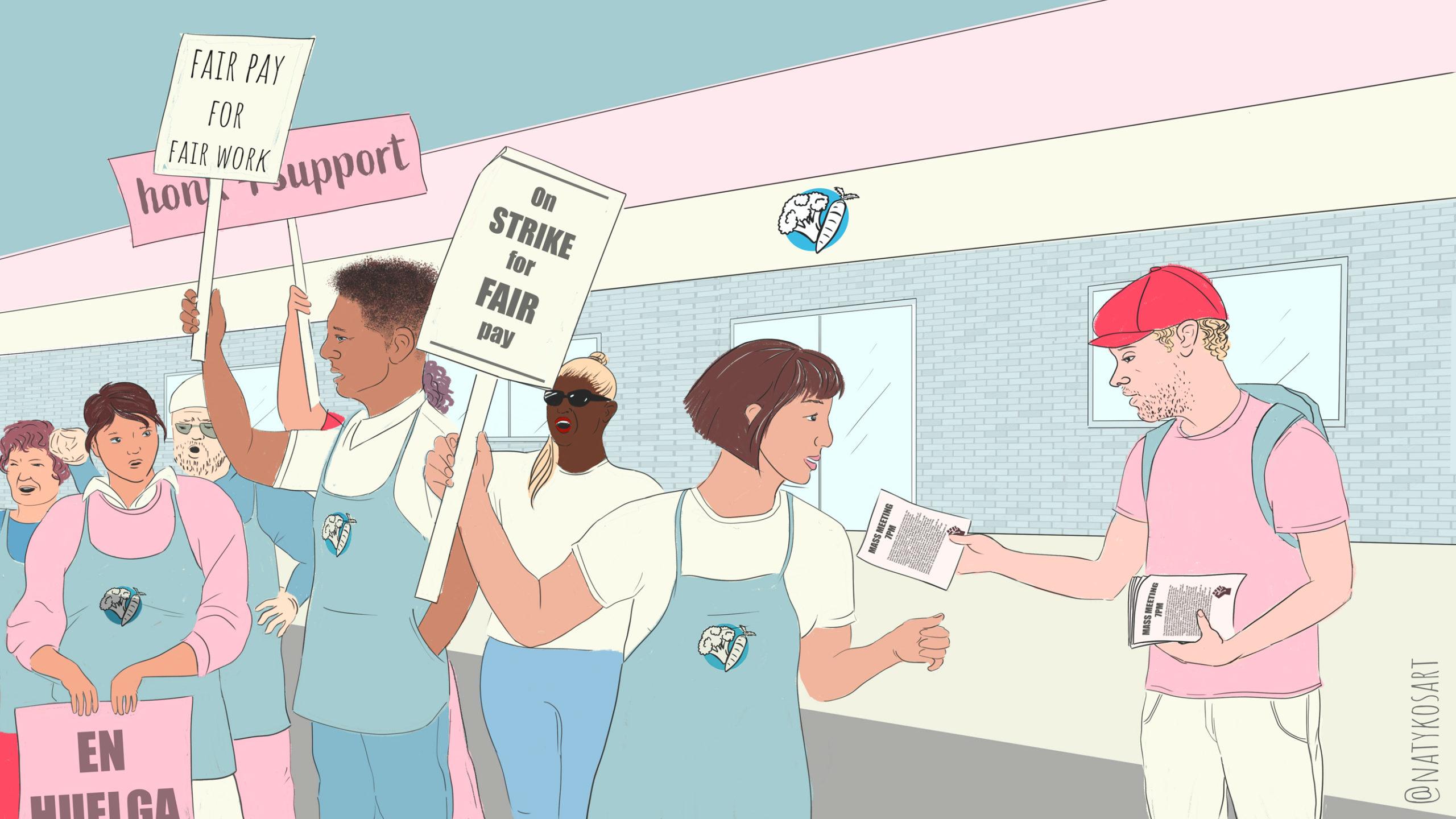 Workplace struggles are political