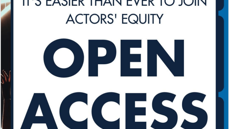 Actors' Equity: Lessons for a Business Union from a Scrappy Solidarity Union