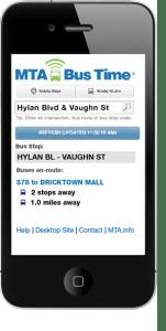 MTA Bustime