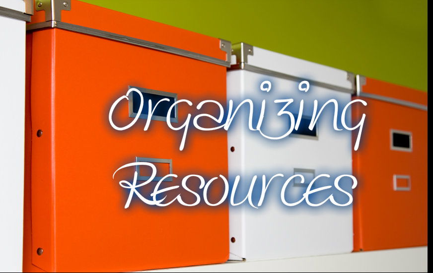 Organizing Resources