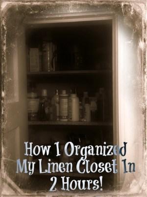 My Linen Closet