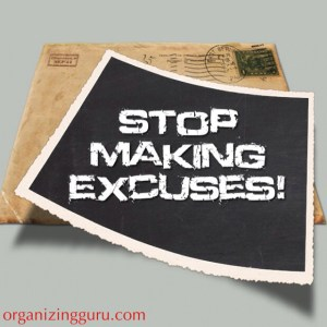 Stop the excuses