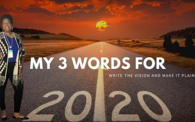 My 3 Words for 2020