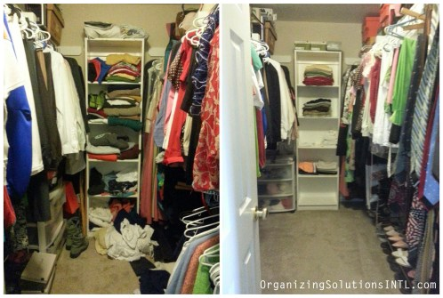 Kansas City Closet Organize - Organized Closet Before and After