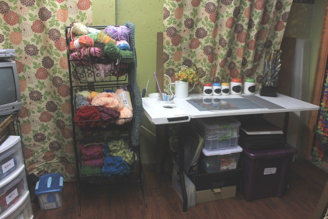 A Craft Room Rediscovered Part 4 - making space for scrapbooking