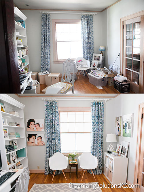 Photographers Home Office - Before and After 2