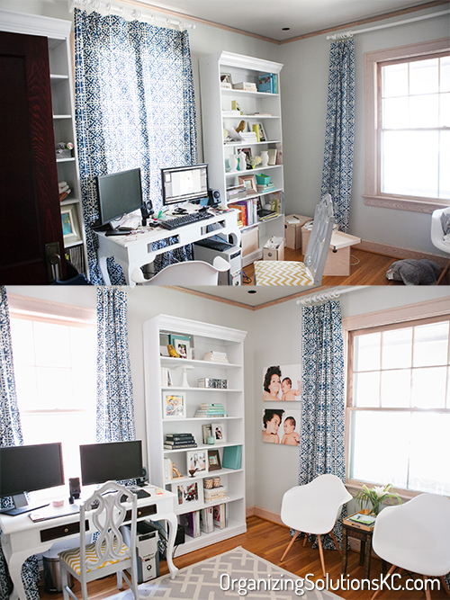 Photographers Home Office - Before and After 3
