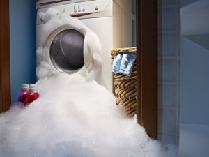 The wrong way to clean and organize your laundry room