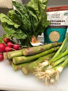 spring veggie bowl ingredients