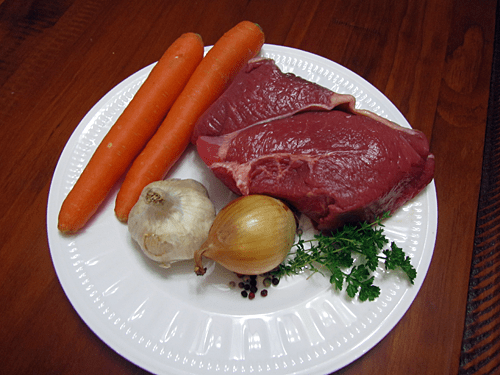 pot roast ingredients