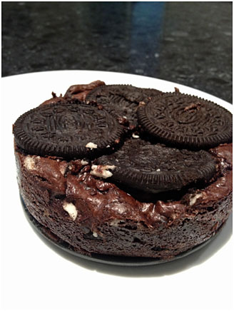 Oreo Brownie Sandwich by Choc Chip Uru