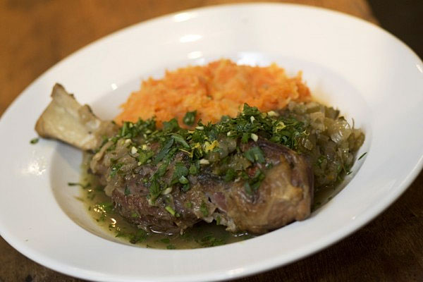 Lamb Shanks with Gremolata by hotlyspiced.com
