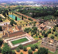 Emperor Hadrian's Villa outside Rome