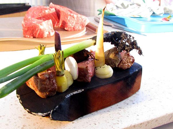 Cameron Matthews Steak Presentation