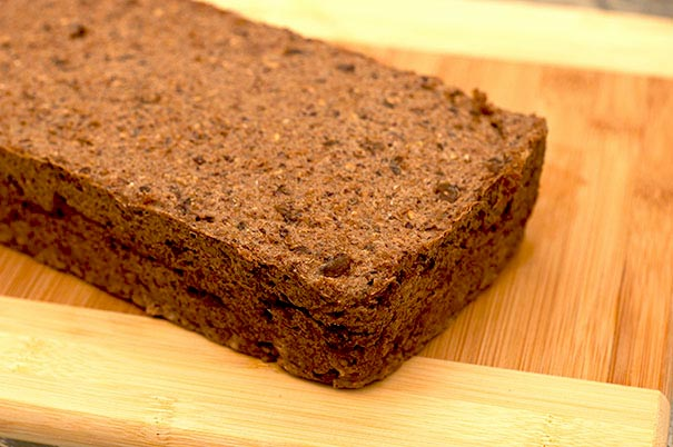 Sprouted Wheat, date and walnut essene bread recipe