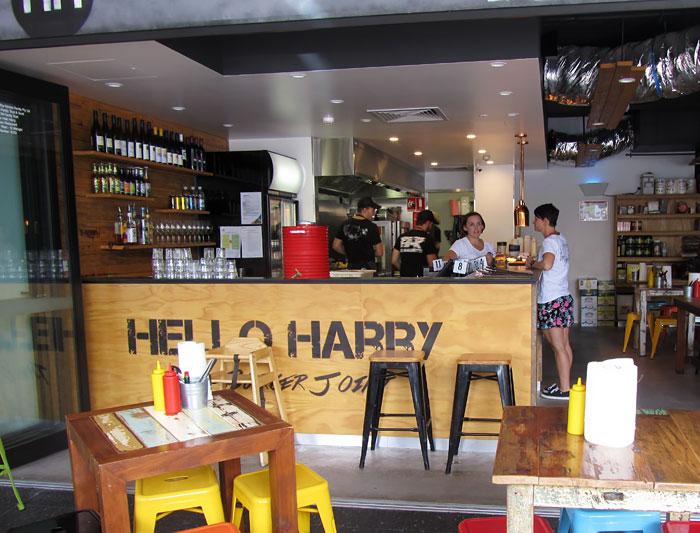 Hello Harry, The Burger Bar