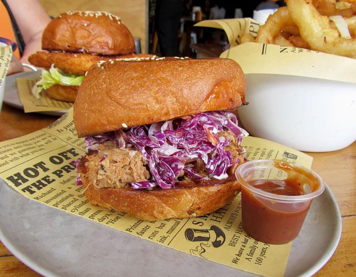 Louisiana Pulled Pork Sandwich