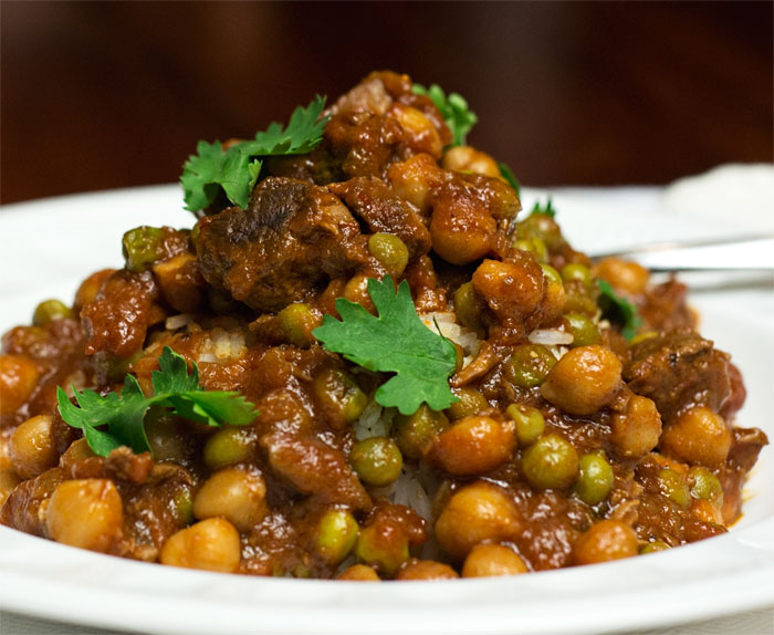 Moroccan Inspired Lamb Stew