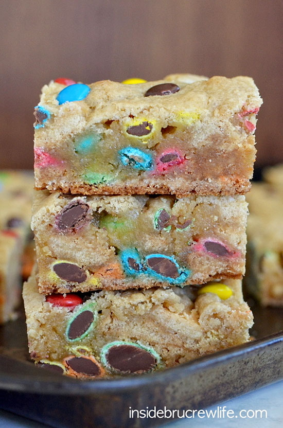 M&M Blondies