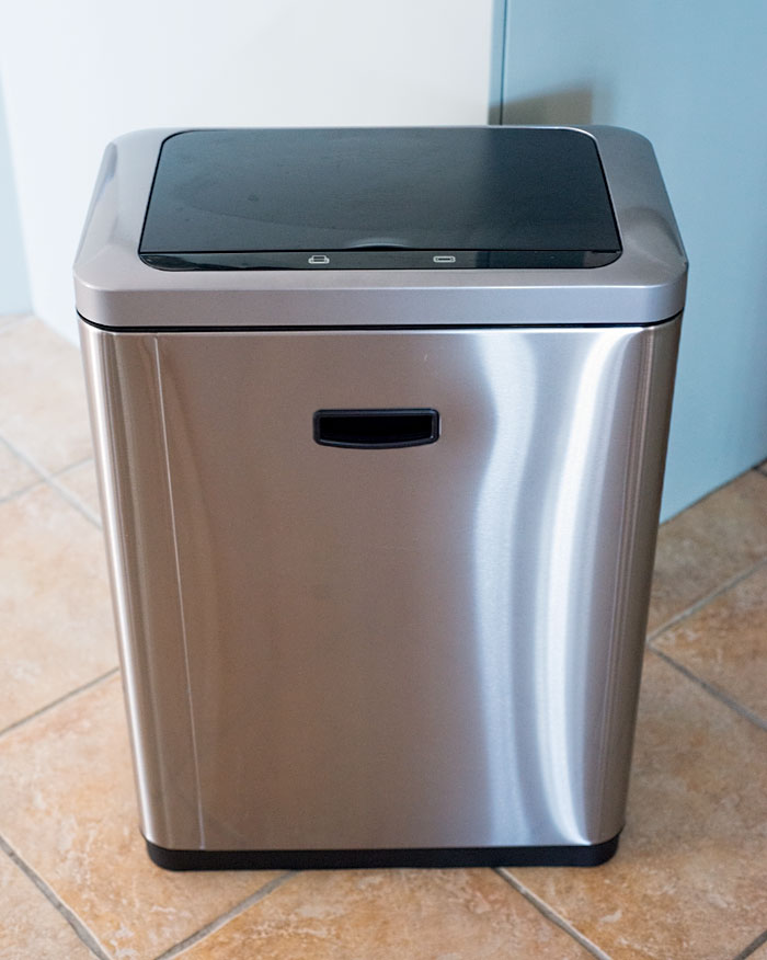 Electric Wastebasket