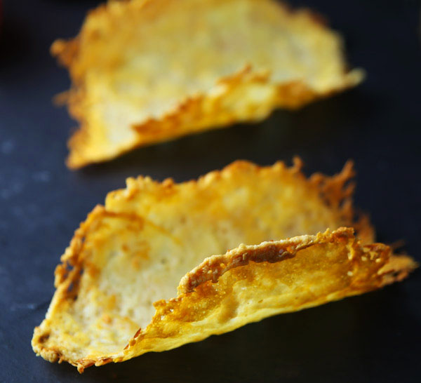 How To Make Parmesan Cheese Taco Shells (Parmos!) - This is a great Low Carb and Gluten Free alternative for taco shells!
