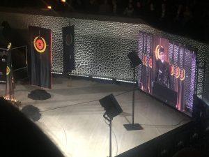 Foto: Die letzte Rede des Diktators