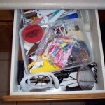 Tackle it Tuesday ~ Organizing my kitchen drawer