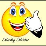 Saturday Solutions – Recipes