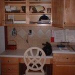 Kitchen desk organization….