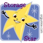 Storage Star ~ Keeping track of puzzle pieces…..