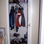 Closet cubbies and shelves that make me very very happy!