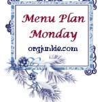 Menu Plan Monday ~ Dec 15th