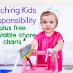 Free Printable Responsibility Chore Charts