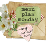 Menu Plan Monday ~ Oct 19th