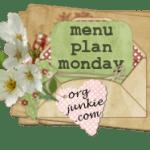 Menu Plan Monday ~ Oct 19th