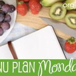 Menu Plan Monday ~ June 7th